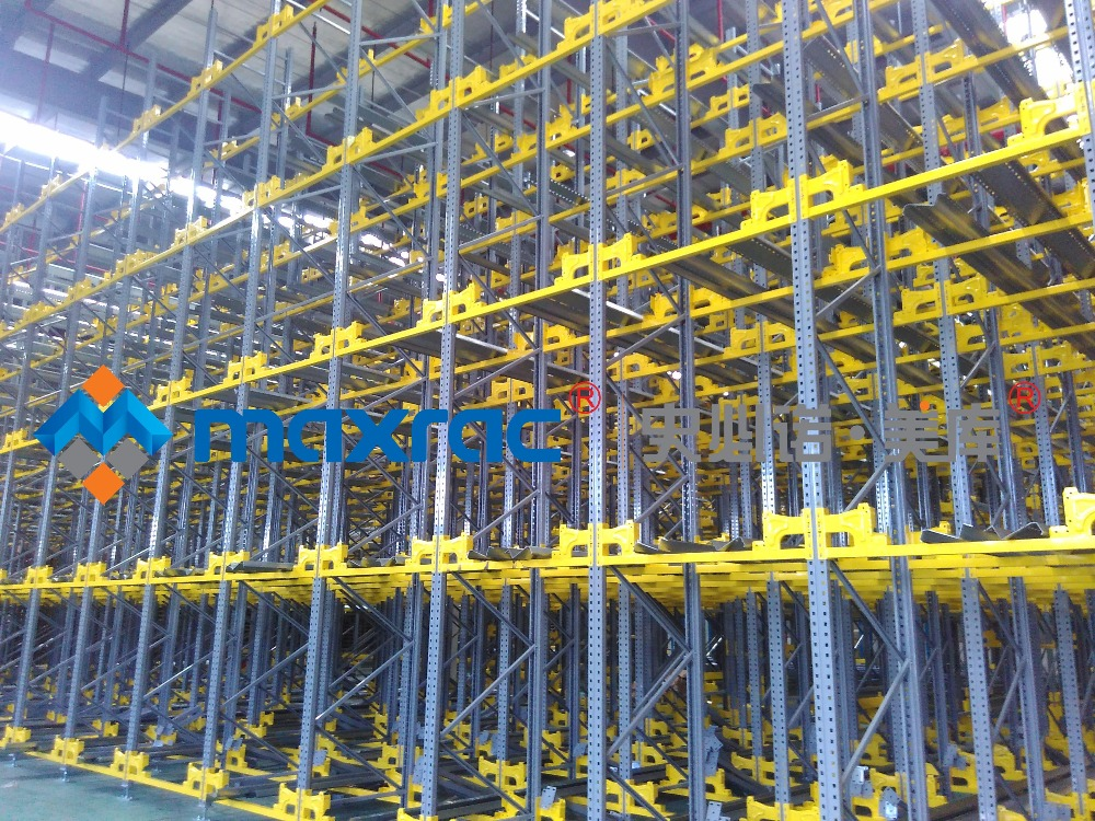 Maxrac Automated warehousing and logistics equipment system Radio Shuttle Automatic racking System