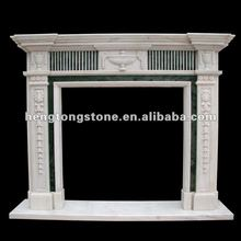 Modern Marble Fireplace Mantel Design