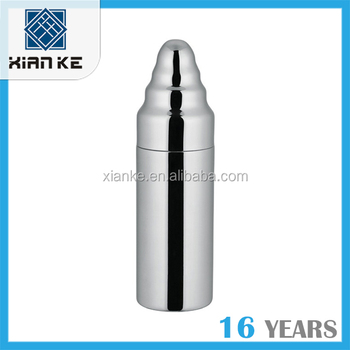 500ml 18/8 stainless steel cocktail shaker mixer