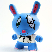CUSTOM Dunny 8inch Art Figure Toy/VINYL TOY Dunny With Weapon Accessories/vinyl figure toy in china supplier