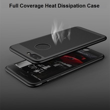 New Ipaky 360 Degree Heat Dissipation Radiating Radiation Cooling Hard PC Back Cover Case For iPhone 7 6 6S Plus