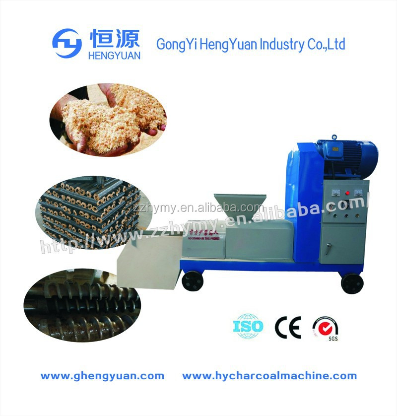 high efficiency charcoal briquette manufacturing process