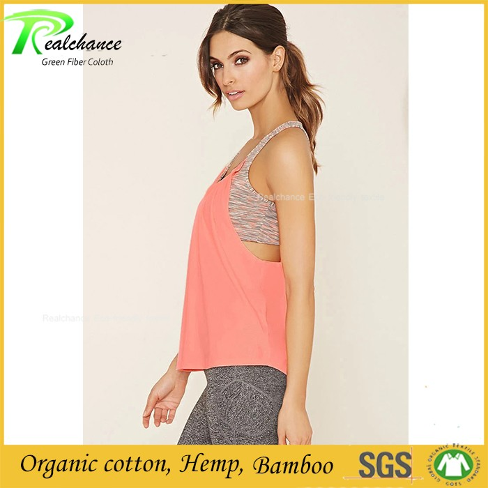 Sports tank tops wholesale yoga bamboo clothing