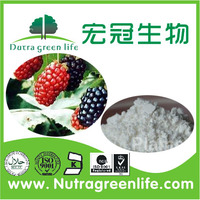 100% Natural Mulberry Leaf Extract powder, Mulberry extract in bulk,1-Deoxynojirimycin(DNJ) 1% 2%