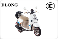 Chinese 80CC Brand New Adult Electric Moped Motorcycle for Sale / cheap gas scooters for sale