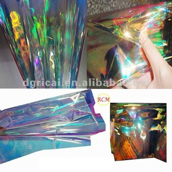 Magic Rainbow film for wrapping