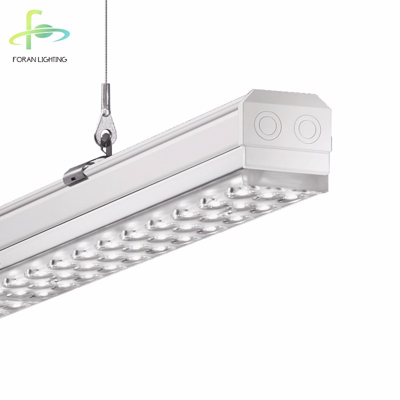 Connection System in 25 seconds 52W LED Trunking System Linear light