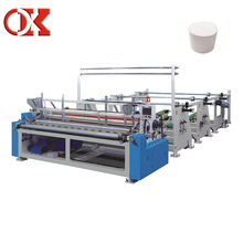 Toilet Paper And Kitchen Towel Making Machine Production Line