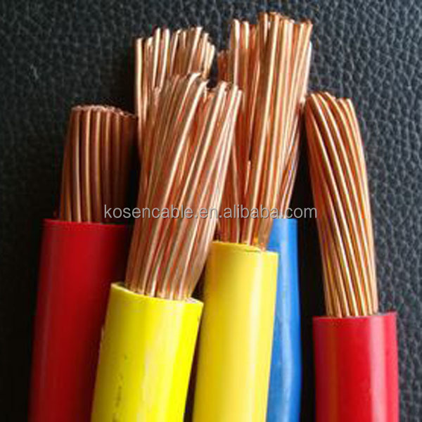 PVC Sheath Single Core 70MM Copper Cable Low Voltage