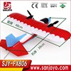 Fly traning beginners rc airplane 2.4CHZ Durable EPP rc glider Electric rc Airplane SJY-FX806