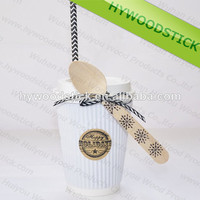 Wholesale Personalized Color Restaurant Cafe Disposable Serving Spoon