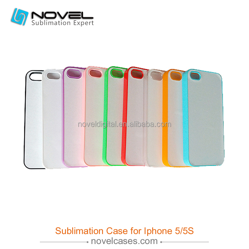 Best Selling 2D Sublimation Phone Cover Case For iPhone5/5S/SE,DIY Blank Case