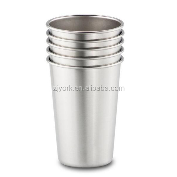 4 pcs set with customized package/sleeve 16oz stainless steel pint beer mug
