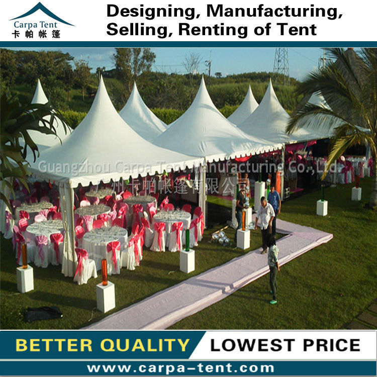 Fire proof outdoor wedding gazebo tents with assemly gazebo ...