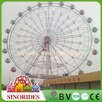 Large and giant ferris wheel for sale with electric power supply