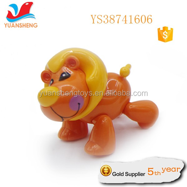 hot sale forest style friction power animal plastic toddler toys for wholesale