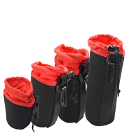 2016 new type Universal Neoprene Waterproof Soft Video Camera Lens Pouch Bag Case Full Size S M L XL For Canon Wholesale