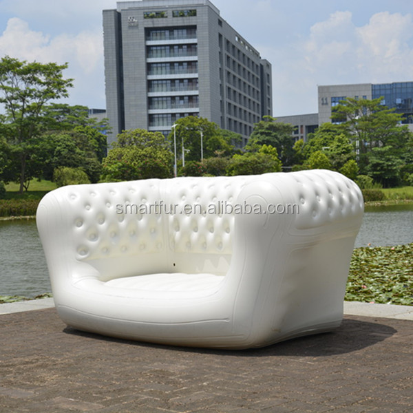 Inflatable Chesterfield Sofa Hire: Populaire Wit Sectionele Opblaasbare Chesterfield Sofa