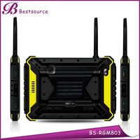 2015 New 8inch MTK8382 1280*800 Quad Core IP68 Android 4.4 RAM 1G ROM 16G NFC walkie talkie GPS 3G rugged tablet ip65