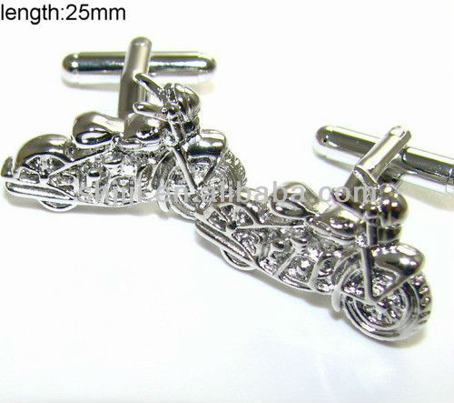 Fashional <strong>Mini</strong> Motorcycle Cufflinks