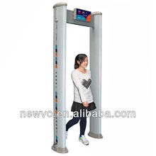 Elliptic Plus Enhanced Multi-Zone Walk-Through Metal Detector