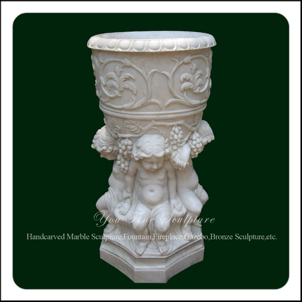 Marble Garden Vase, Marble Garden Vase Suppliers And Manufacturers At  Alibaba.com