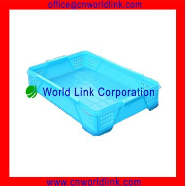 High Quality Plastic Stackable HDPE Bread Tray