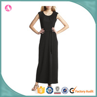 Latest dress designs Women's Cap-Sleeve Maxi Dress With Lace