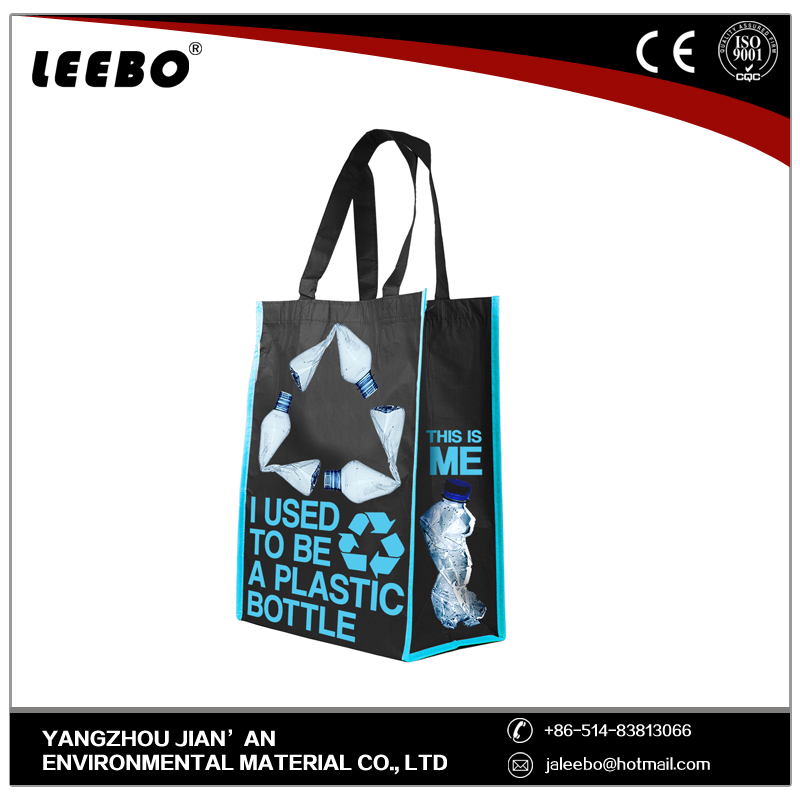 Cotton Polyester foldable shopping trolley bag