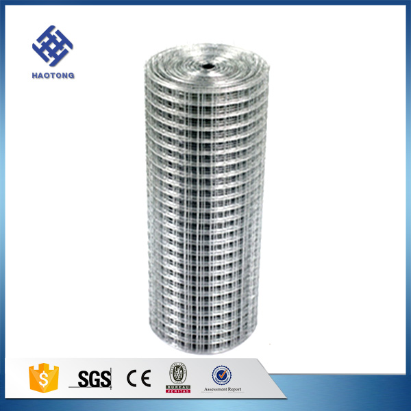 hot dipped 1/2 inch galvanized welded wire mesh