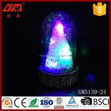 Christmas table glass decoration ideal bell merry Christmas words decoration