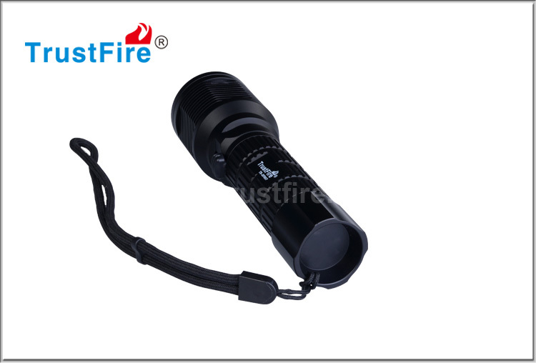 Trustfire diving powerful led flashlight waterproof Shockproof led light DF007 hand lamp from china suppliers led flashlight