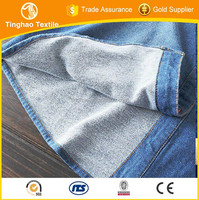 Lastest Design Smooth Knitted Denim Fabric Hot Sale