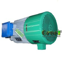 10kW 220V 240V magnetic motor generator 3 phase AC with SKF bearing,carbon steel shaft material