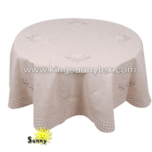 beautiful linen coffee tablecloth for sale