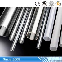 PTPVC-001 hard PVC tube rigid PVC pipe 10mm clear PVC plastic pipe