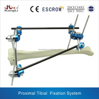 Proximal Tibial shaft external fixation for artificial limbs