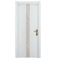 New design Walnut veneer solid wood MDF interior doors