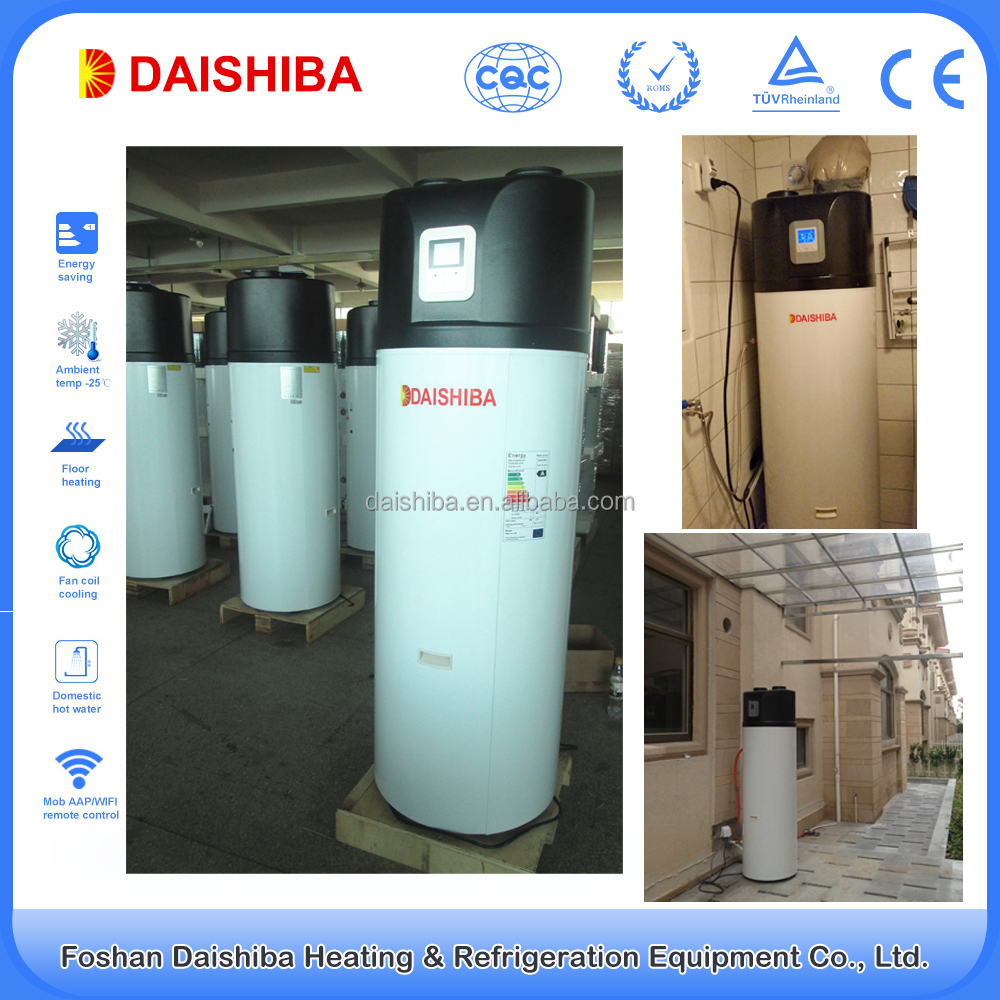 Factory Hot Sale All In One 3kw Air To Water Heat Boiler (250l,With ...