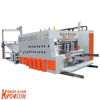 lead edge corrugated carton flexo printing slotting die cutting machine manufactureine