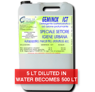 GEMINOX ICT - where hygiene requires particular care - concentrated at 1% - SUPERECO