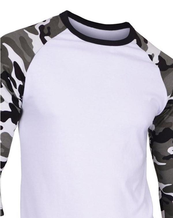 High Quality Wholesale Custom Army Green Blank Camo T