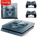 Skull skin sticker for ps4 playstation 4 controller console vinyl decal