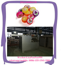 handicraft lollipop candy making machine colorful manual hard lollypop sugar cutting forming machine