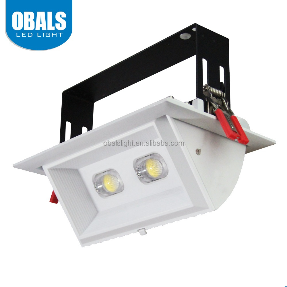 Obals 6 inch led downlight conversion Fire Rated Recessed COB UL grille downlight