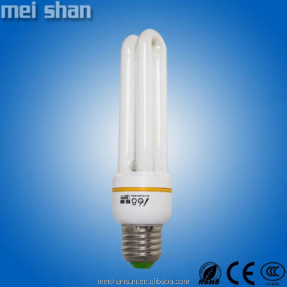 The lowest price fluorescent 2U energy saving lamps