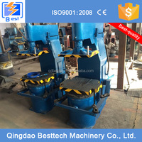 Z143WB microseism foundry sand molding machine, foundry flask