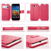 High Quality Flip PU Leather Stand Back Case For XiaoMi Mi2 2s