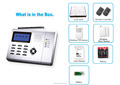 Intelligent Best Auto Dial CE LCD GSM Home Alarm System