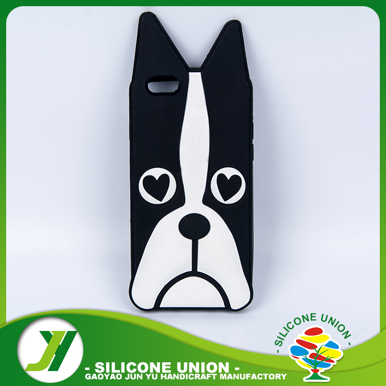 Customized Design dog shaped silicone case for phone
